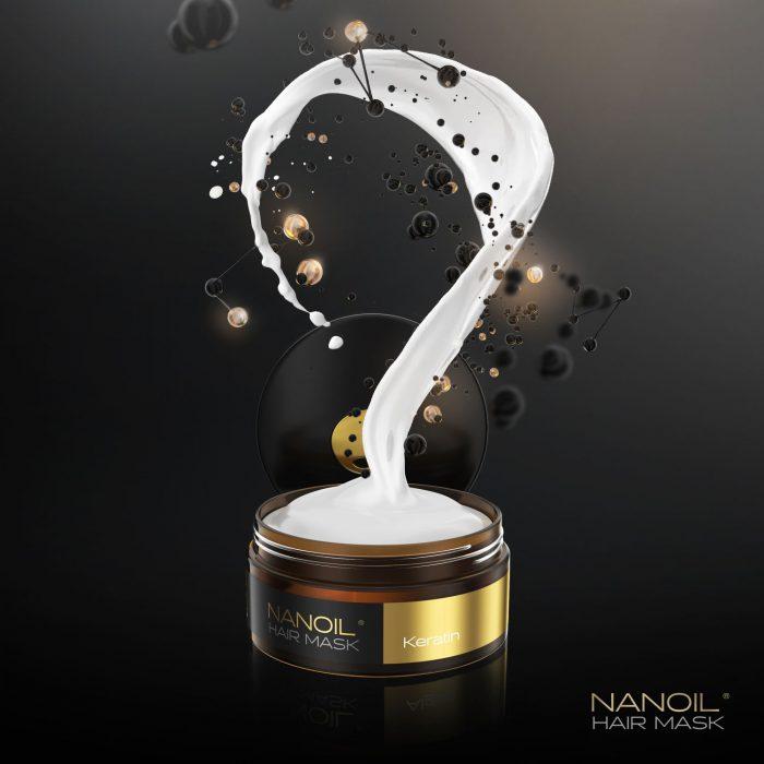 Sorgen Sie für Ihre Haare – wählen Sie die Nanoil Haarmaske mit Keratin